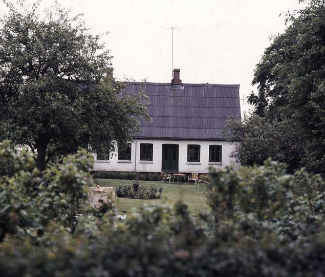 Damshøj, 1980erne. Foto Mogens Suhr Andersen.