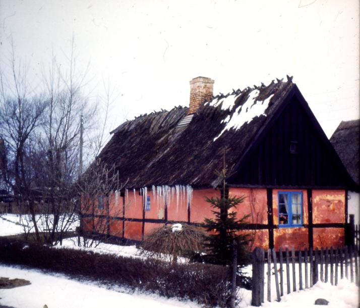 Bygaden 10, vinteren 1966.