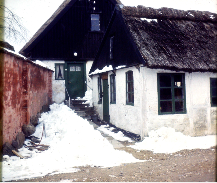 Kirkevej 1, vinteren 1966.